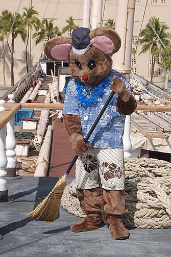 Matson the Mouse broom