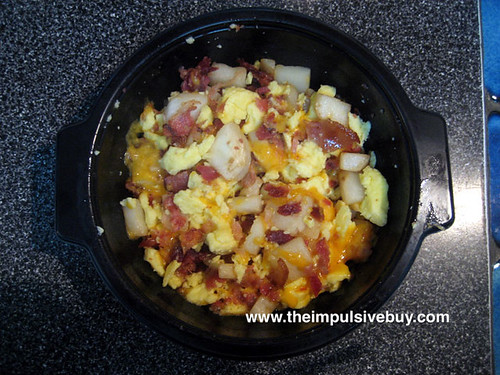 Jimmy Dean Bacon Breakfast Bowl Closeup