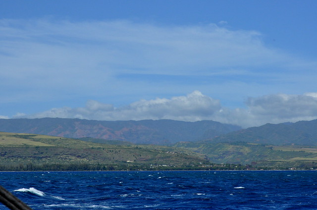 Waimea from boat