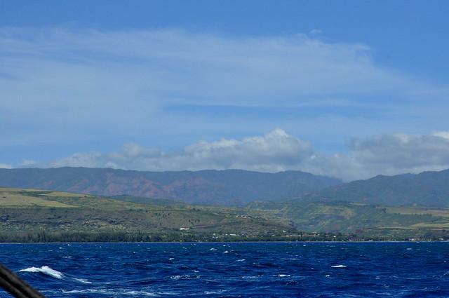 Waimea from boat