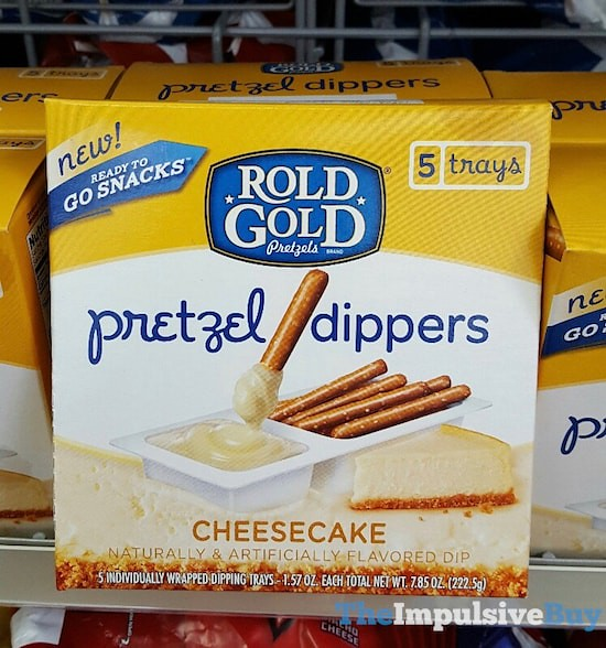 Rold Gold Cheesecake Pretzel Dippers