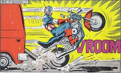 Cap's Comic Book Harley (Old)