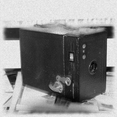 Kodak No.2 Brownie Cartridge Hawk-Eye, Model B