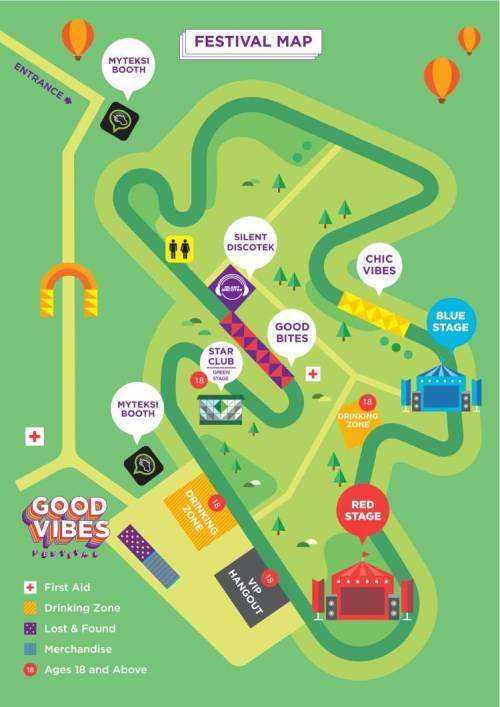 05 Good Vibes Festival Map