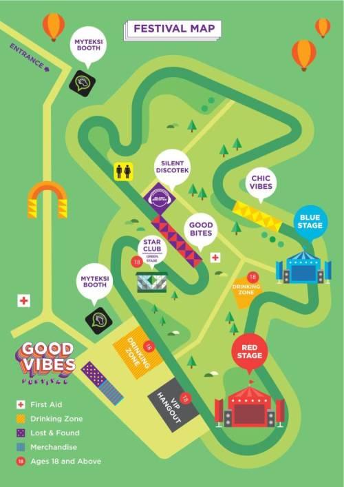05 Good Vibes Festival Map