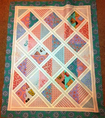 Carseat Quilt top