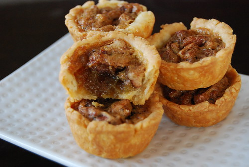 Mini pecan tarts
