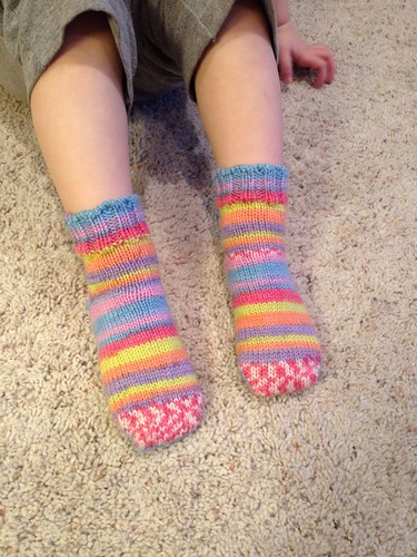 Cassie in Socks