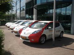 Nissan Leaf voor Strukton Worksphere 2