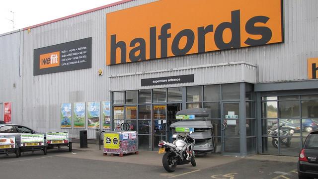 halfords Seafield