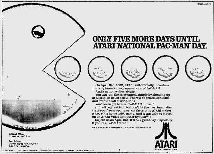 Countdown to Atari National Pac-Man Day