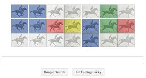 Todays Google Doodle honors Eadweard J. Muybridge who is celebrated for his pioneering photography using stop-frames.
