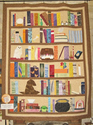 The Project of Doom on display at Hennig House Quilts