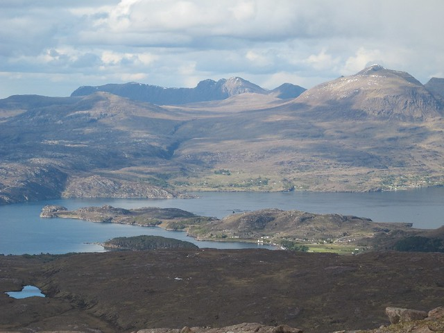Sheildaig, Loch Sheildaig and Upper Loch Torridon