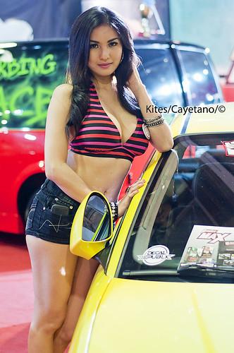 Trans Sport Auto Show 2012 - Abby Poblador