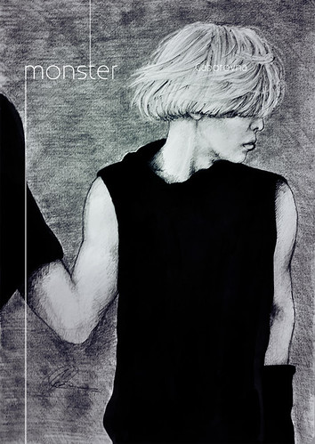 monster - gd fanart