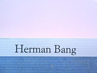 Herman Bang, La casa bianca. Iperborea 2012. [responsabilità grafica non indicata]. Copertina (part.), 3