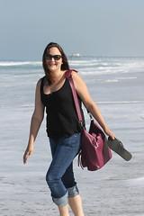 Sarah at Hermosa Beach