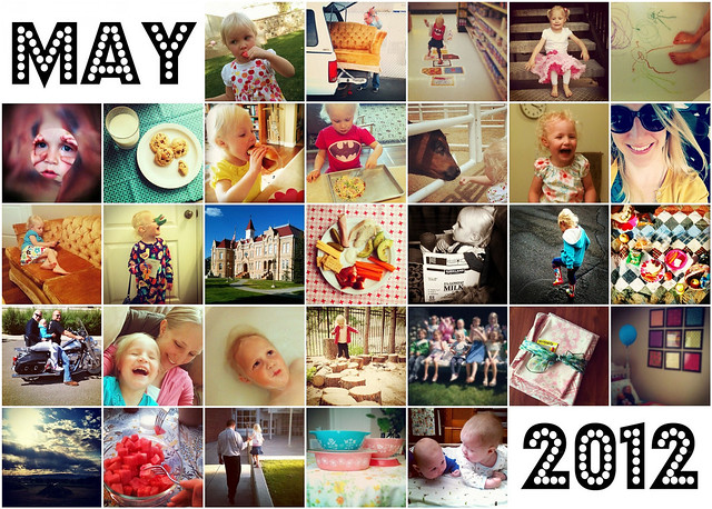 May 2012 Instagram Mosaic
