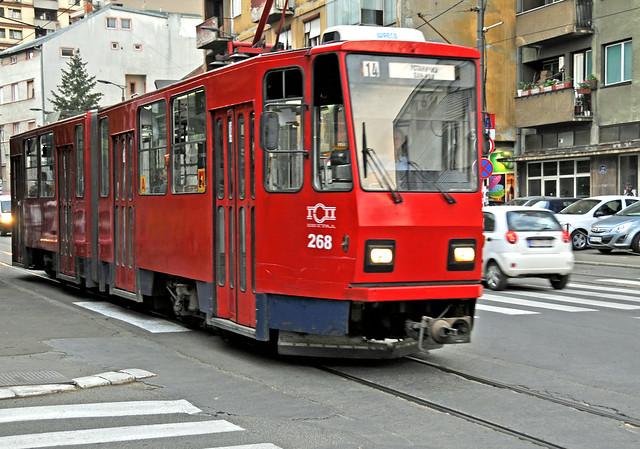 Serbia-0416 - Belgrade Tram