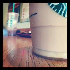 Iced caramel macchiato #photoadaymay #somethingsweet and yes that is a layer of caramel at the bottom
