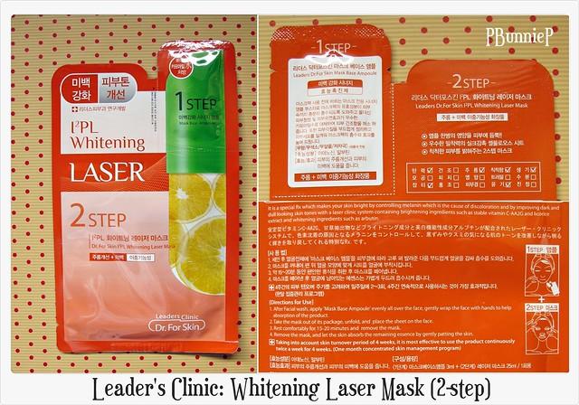 Leader's Clinic Whitening Laser Mask 02