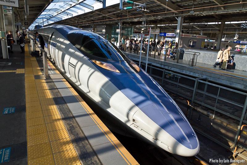 Shinkansen de la serie 500, incluido en el JR Pass