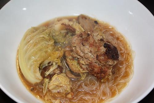 Lion's Head Casserole w/vermicelli noodles