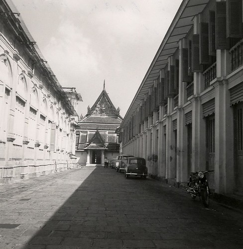 Outside Grand Palace Bangkok 1961