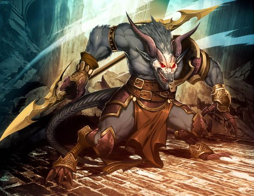 warhammer___horned_rat_by_genzoman-d4fihpj