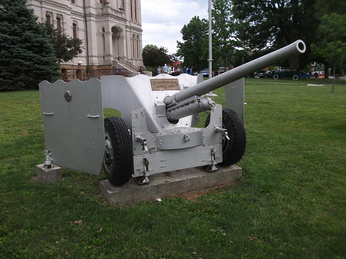 1940's International Harvester M-2 57mm Carriage Gun by cjp02
