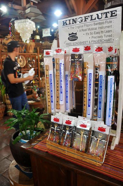 Filipino bamboo flutes