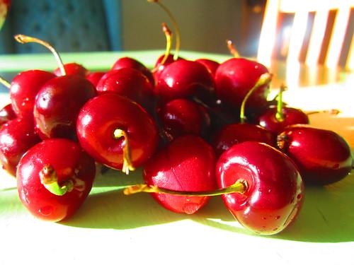 amo las cerezas
