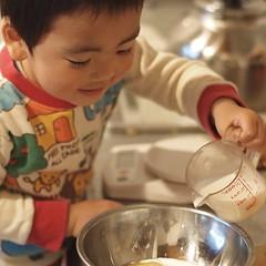 ドーナツづくり #azukikun