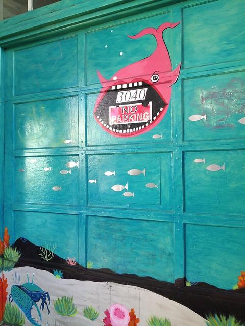 Garage door artwork, 24th Street