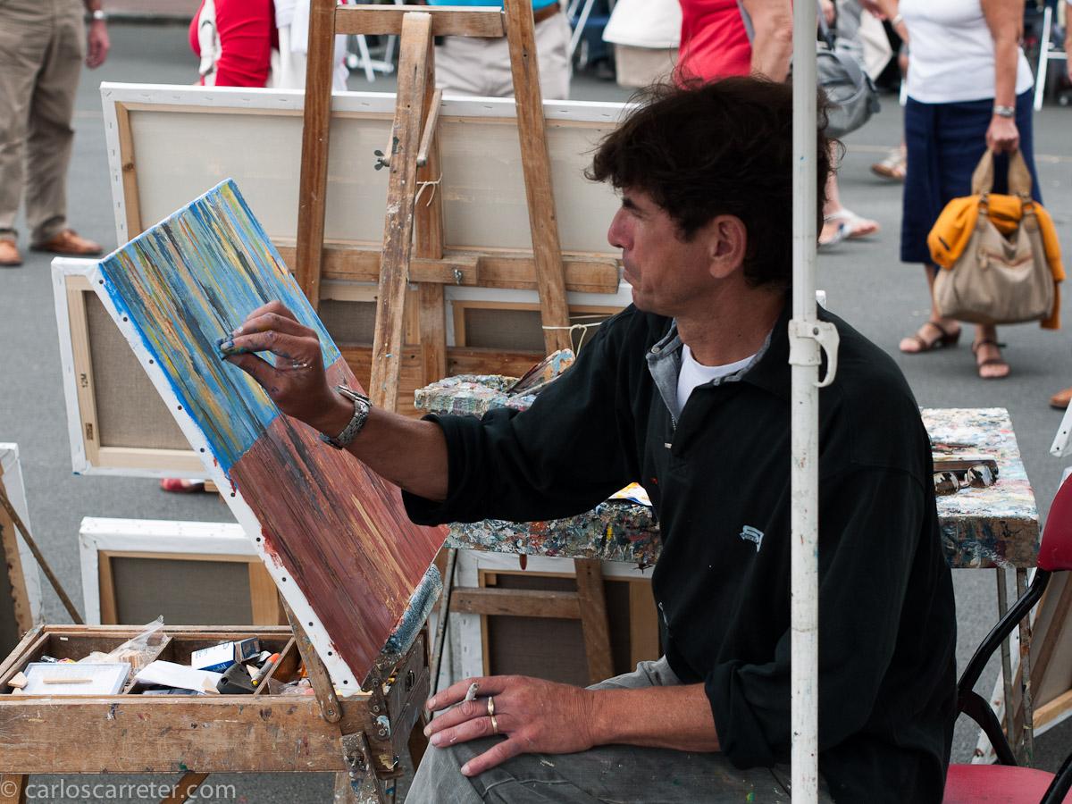 Pintor en Saint-Jean-de-Luz