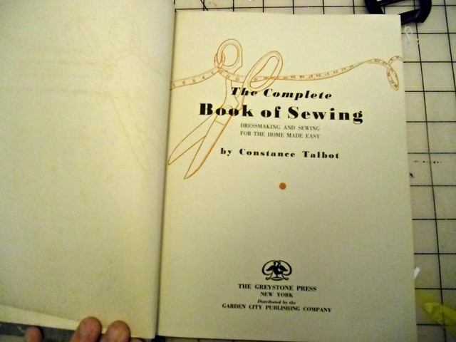 Complete Book of Sewing