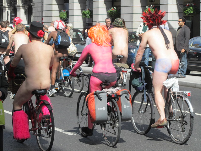World Naked Bike Ride, London