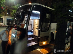 Night buss from Tokyo to Aomori