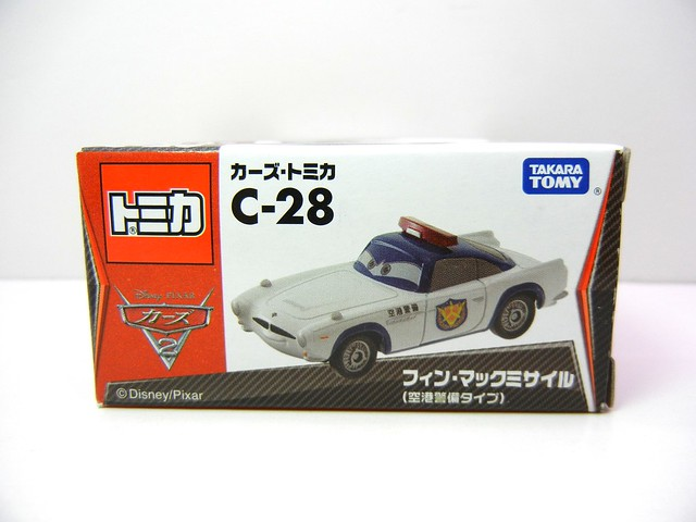 disney cars tomica security guard finn (1)