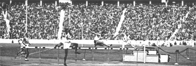 Miguel White Amazing 1936 Olympic 400m Hurdle Bronze 19