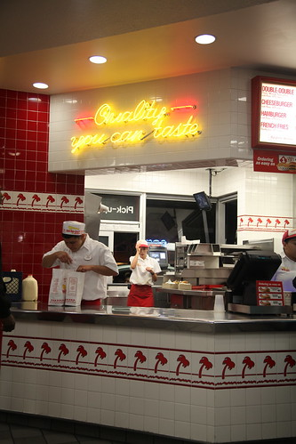 In n Out Burgers, LA