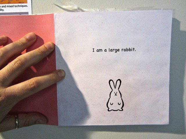 I am a rabbit / Nika Matsumoto (BCBF 2012). 4