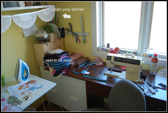 How my sewing room really looks like....