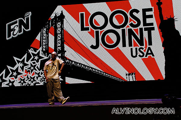 Loose Joint on stage