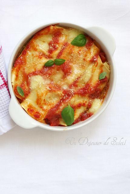 Cannelloni typiques de Sorrento