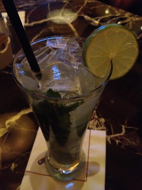 Pineapple basil mojito - Grand Lux Cafe