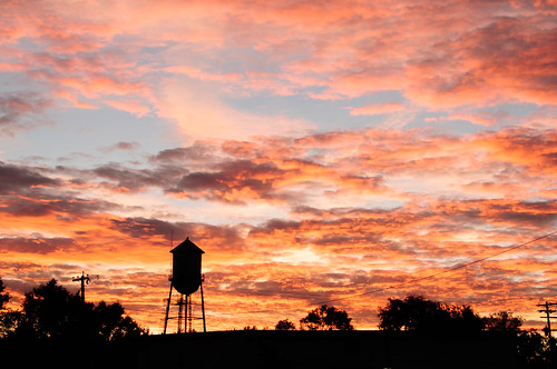 Roberts,Idaho sunset by Barb Phillips