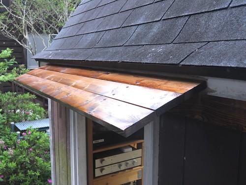 Eaves for Garage Backdoor