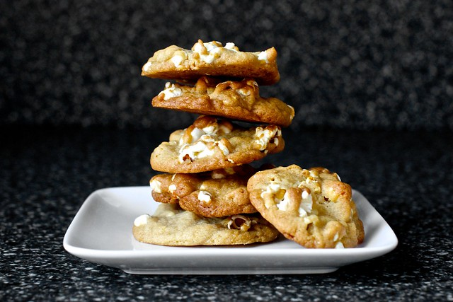 buttered popcorn cookie from the smitten kitchen cookbook